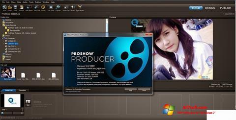 Снимка на екрана ProShow Producer за Windows 7