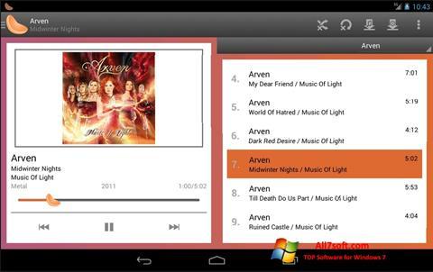 Снимка на екрана Clementine за Windows 7